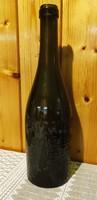 Patzauer Miksa sörös üveg Hódmezővásárhely