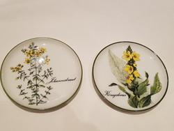 Porcelán pohár alátét 2db