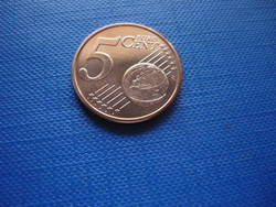 GÖRÖGORSZÁG 5 EURO CENT 2016 ! UNC! RITKA! HAJÓ!