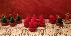 Karácsonyfa, rénszarvas, angyal mécses karácsonyi dekoráció, ajánljon!