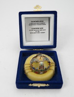 Szent Korona méretarányos mása ezüstből -Állami Pénzverő