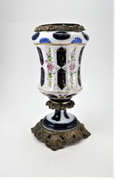 Porcelán petróleum lámpatest