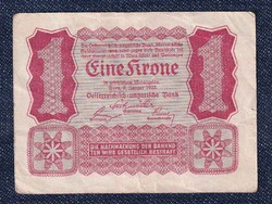 Ausztria 1 Korona 1922 (id10733)