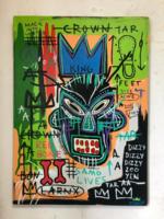 Jean Michel Basquiat eredeti alkotása, leárazásnál nincs felező ajánlat!