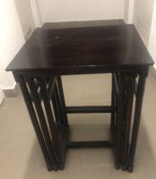Antik bécsi thonet asztal 3 darab
