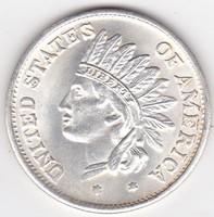 USA forgalmi pénzérme 1851