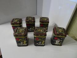 Régi kínai szép kis teás dobozok