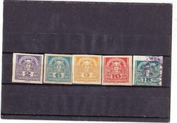 Osztrák újság bélyegek 1920/21
