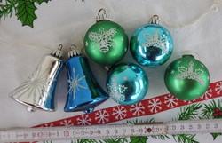 Karácsonyi dísz kollekció 5: 6 db _  karácsonyfadísz gyűjteményből