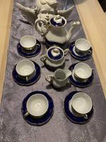 Zsolnay Ponpadur  porcelán kávés készlet