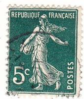 Franciaország forgalmi bélyeg 1907