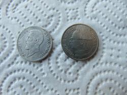 Románia 1 lei 1914 - 50 lei 1937