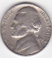 USA forgalmi pénzérme 1946