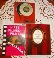 Film és színházművészeti  könyvek,  művészeti könyvek.
