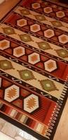Csodás szövésű kilim kézi gyapjú szőnyeg