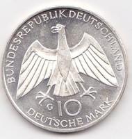Németország forgalomba került emlékérme 1971