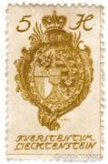 Liechtenstein Forgalmi bélyeg 1920