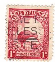 Új-Zéland forgalmi bélyeg 1935