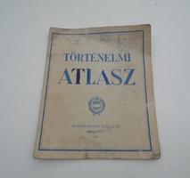 Régi retro Történelmi atlasz