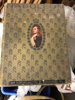 Nagy méretű, 45 x 40 cm-es, Napoleon-ról album, színes nyomatokkal.