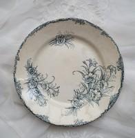 Terre de fer fajansz tányér