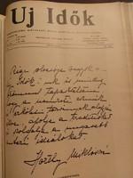 Új Idők 1935. I-II., teljes évfolyam két kötetben
