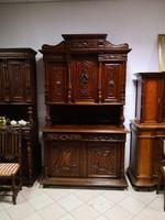 Antik tálaló-szekrény I.