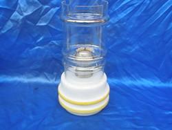 Üveg asztali petróleum lámpa