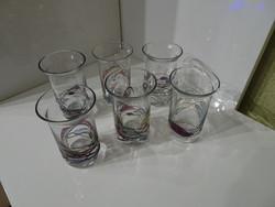 Nagyon szép  hibátlan kicsi poharak