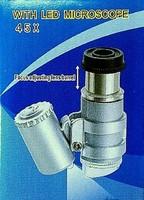 Zsebmikroszkóp. 45x, extra képesség!