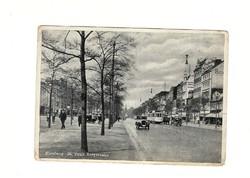 1939 Hamburg St Pauli reeperbahn Deutsches Reich Képeslap DR Németország KIÁRUSÍTÁS 1 forintról