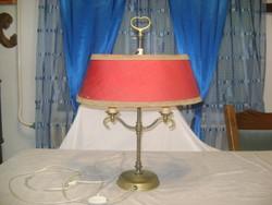 Antik réz asztali, éjjeli, hangulat lámpa