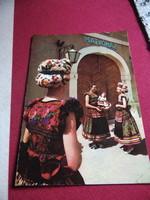 Csodaszép népviseleti képeslapok vegyesen