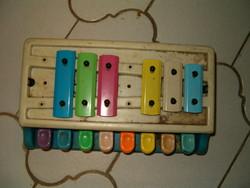 Zene játék retró kb 1980 ból régi gyerek NDK talán trafik áru KIÁRUSÍTÁS 1 forintról