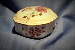 Zsolnay pillangós bonbonier