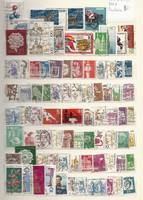 80 darab régi DDR és NSZK bélyeg koraiak is  Nyugat Németország Bundespost KIÁRUSÍTÁS 1 ft