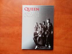 QUEEN ABSOLUTE GREATEST /könyv +cd/limitált kiadás