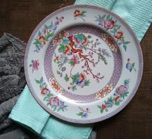 Antik angol Minton fajansz süteményes tányér Indian Tree dekorral