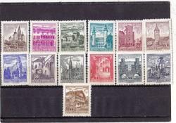 Ausztria forgalmi bélyeg 1960-64
