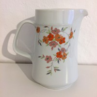 Virágmintás, Alföldi porcelán kancsó
