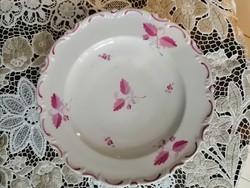 Antik herendi tányér, Fischer Mór