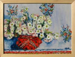 Moona - Krizantémok MONET festményének másolata
