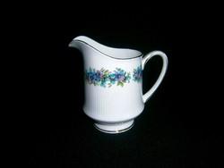 F_017 Royal Standard porcelán aranyozott tejkiöntő virág mintával