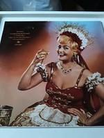 Retro Csárdás királynő bakelit lemez