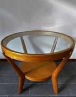 Art deco kávézó asztal ( J . Halabala )
