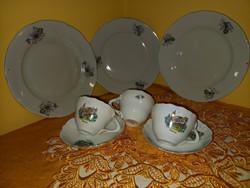 Aquincumi emlék csészék Hévíz Szombathely