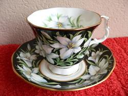 Porcelán angol csésze alátéttel