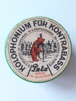 Régi gyanta retro Petz osztrák vintage nagybőgőgyanta