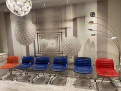 Arper minimal ,retro design irodaszék, office chair, karosszék 9db