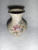 Ausztria Voralberg emlék kicsi porcelán váza 8 cm (1/p)